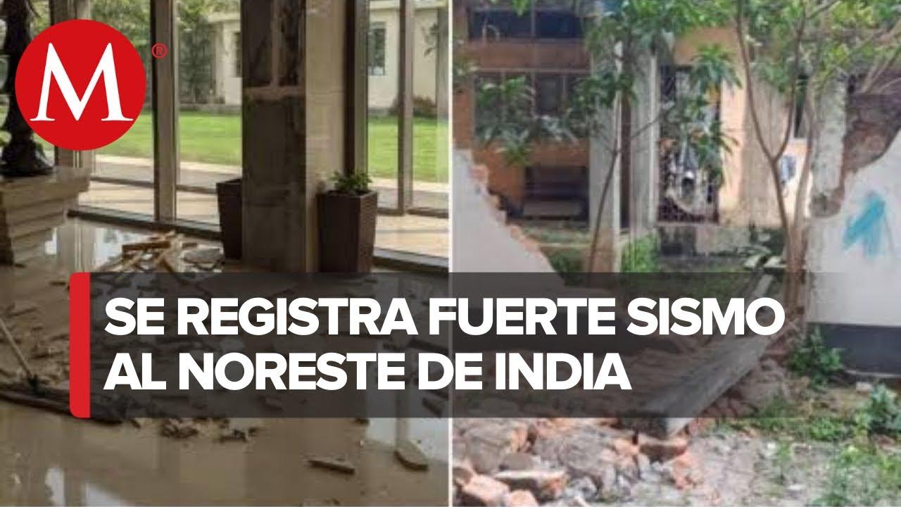 Sismo de magnitud 6.0 sacude noreste de India