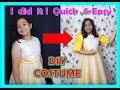 How to #DIYfilipiniana costume/Philippine National Costume/Igorot Attire/#UNCostume for Girls