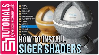 How to install Siger Shaders 4.1
