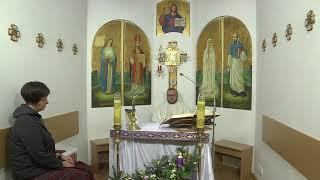 Трансляція Святої Меси з каплиці телеканалу EWTN та КМЦ, 3 грудня 2020