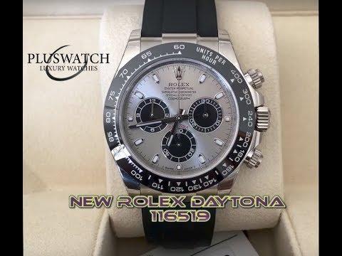 rolex daytona 116519 ln Unboxing brand new Baselworld white gold oysterflex