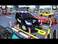 وقوف السيارات الحديثة للشرطة باركر متعدد المستويات - محاكي ...