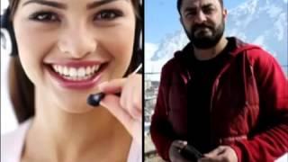Müşteri Temsilcisi Esra'yı Telefonda Esir Alan Hakkarili ile komik sohbet