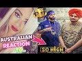 Australian Reaction! | SO HIGH | Sidhu Moose Wala