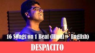 Despacito x Bollywood MASHUP   16 Songs on ONE Beat   Luis Fonsi ft. Justin Bieber   Abhik Das