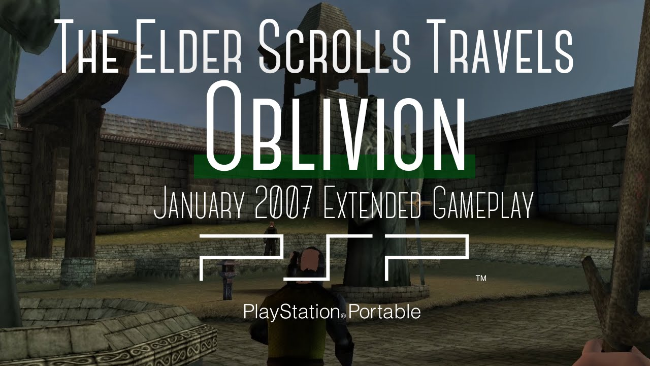 Footage leaks of canned PSP game The Elder Scrolls Travels