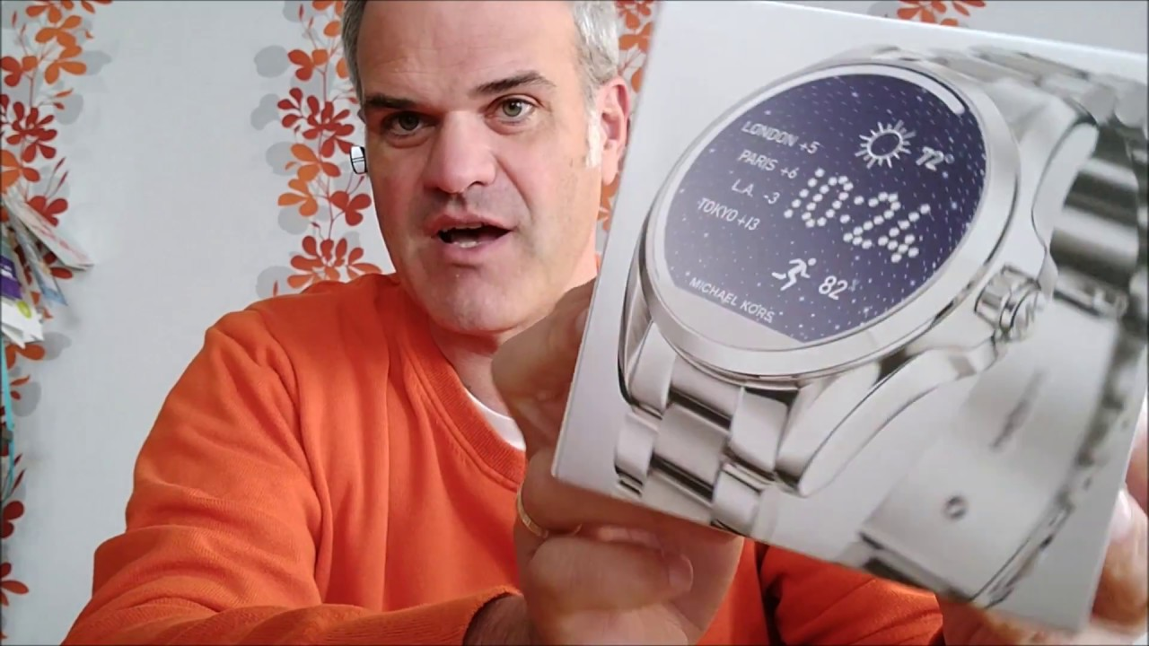 Review + Unboxing Michael Kors Smartwatch Access Bradshaw (Model 2017 Android Wear 2.0)