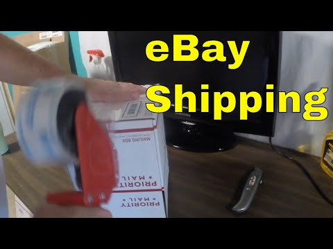 Shipping cubic rate for eBay packages and testing a PS2 Slim Silver