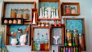 видео Аксессуары для кухни своими руками: для стен, штор и не только
