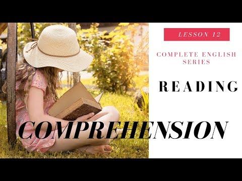 Reading Comprehension Video Lesson 12