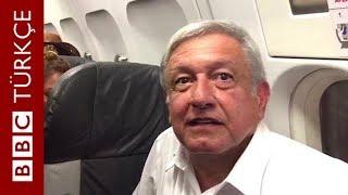 Meksika Devlet Başkanı Obrador: Lüks başkanlık uçağına binmeyeceğim