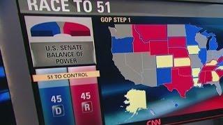 Ten Senate battles too close to call