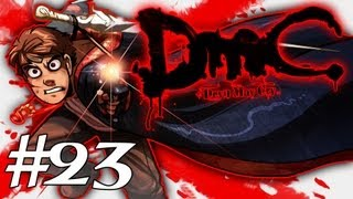 How Dante Got His Groove Back - DMC - Devil May Cry Gameplay / Walkthrough w/ SSoHPKC Part 23 - Vergil Is A Douche