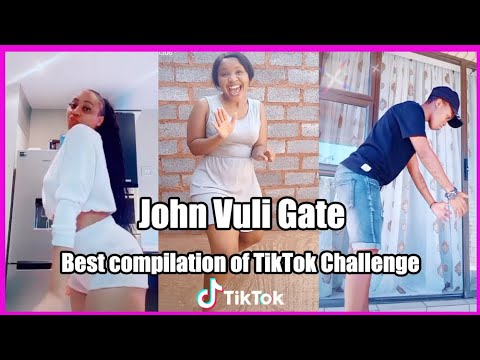 John Vuli Gate Dance Challenge | Mapara A Jazz Ft. Ntosh Gaz & Colano | TikTok Africa