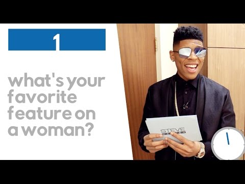 Bryshere Gray: 30 Second Quick Questions  STEVE HARVEY