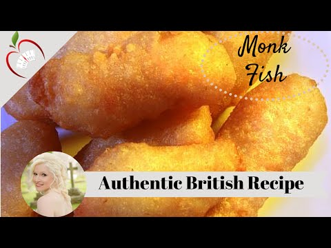 Traditional British Fish N Chips (Scampi)