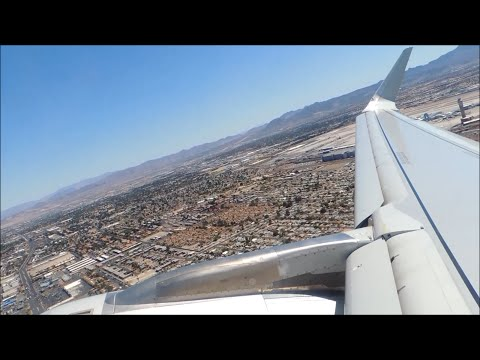 American Airlines Airbus A321-231 [N129AA] pushback, taxi, and takeoff from LAS