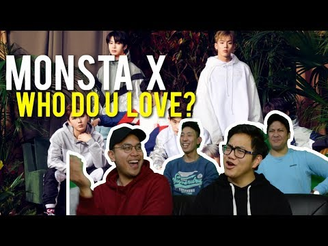 MONSTA X And FRENCH MONTANA - WHO DO U LOVE? (MV Reaction)