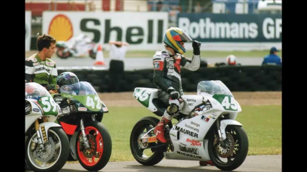 MotoGP - 250cc GP - Donington Park - Friday Practice 1991. - YouTube