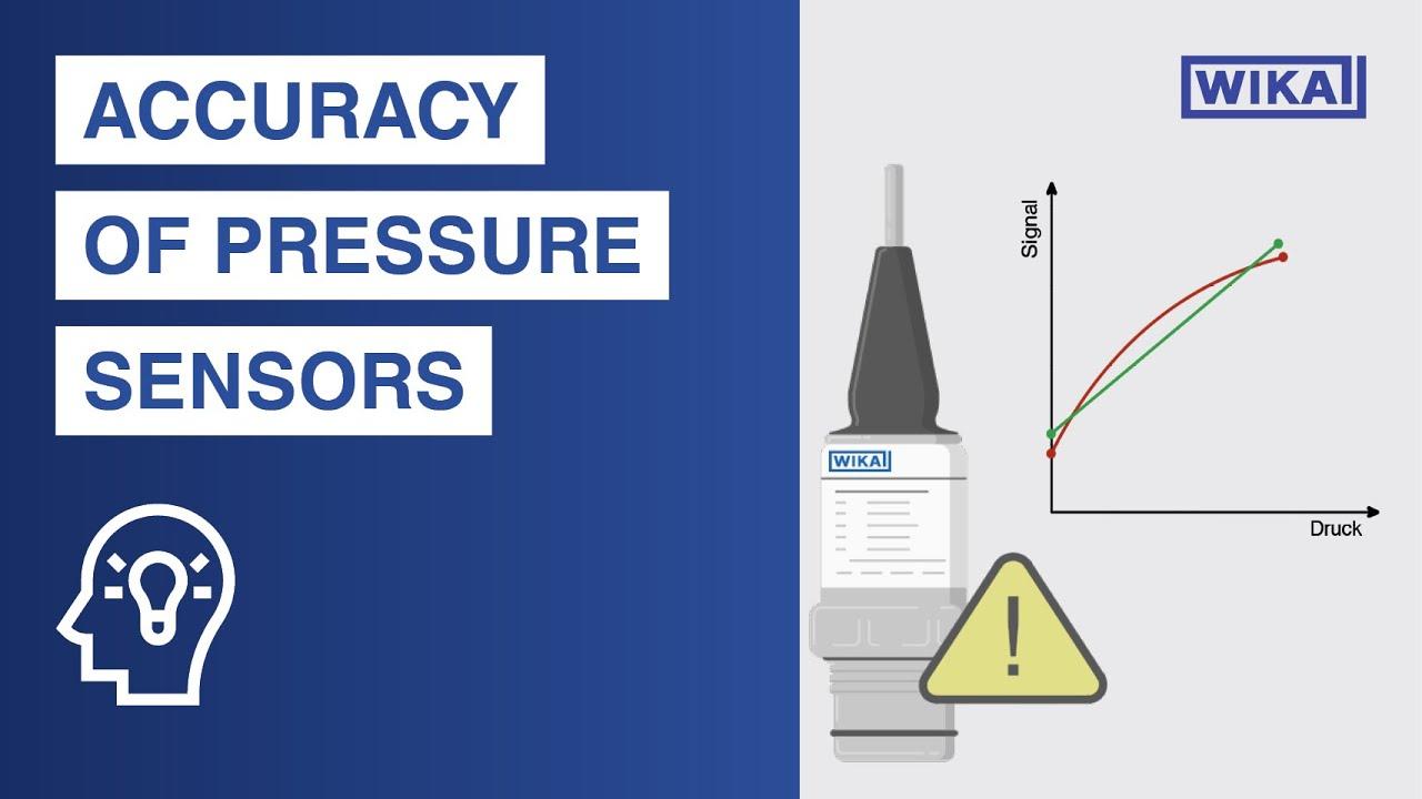 Accuracy of pressure sensors | Keep an eye on those 3 errors!