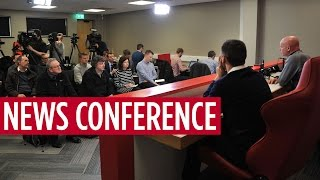 NEWS CONFERENCE | Steve Agnew On Manchester United