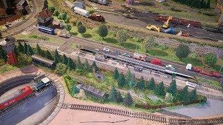 Spur N Modellbahn Heute, Fertigstellung des alten Gleisabschnittes im BW