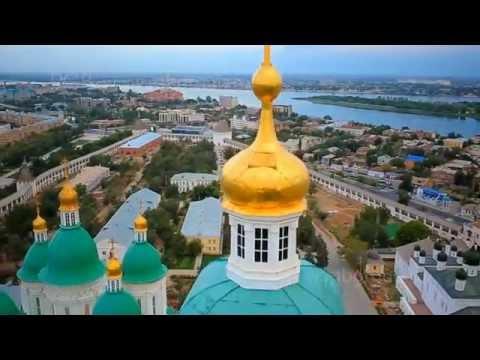 ASTRAHAN şehri ve ASTRAHAN KREMLiN / RUSYA