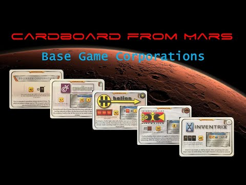 Cardboard From Mars Episode 5: Corporations (Part 1)