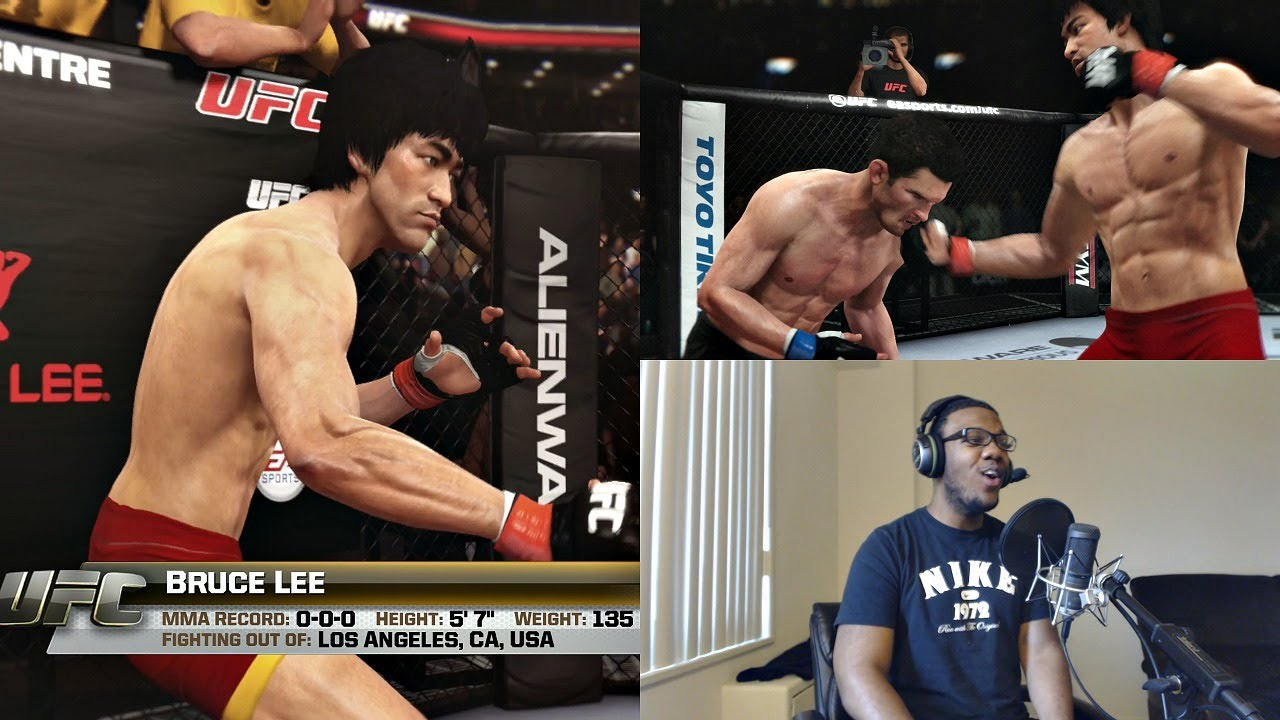 Download EA Sports UFC PS4 Online Gameplay FACECAM - Bruce Lee is Too Deadly for UFC!!