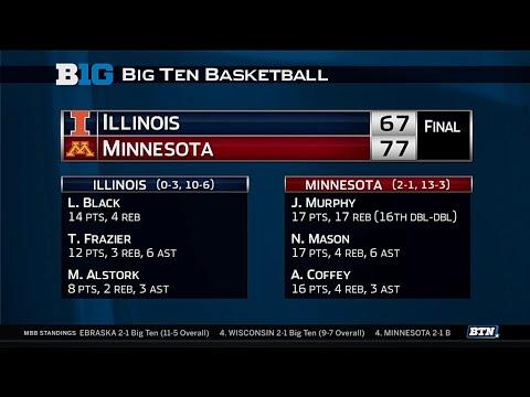 Illinois at Minnesota - Men