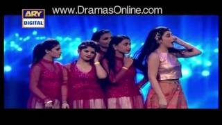 14th Lux Style Awards 2015 dance performance Ayesha Omar hd video full item dance |