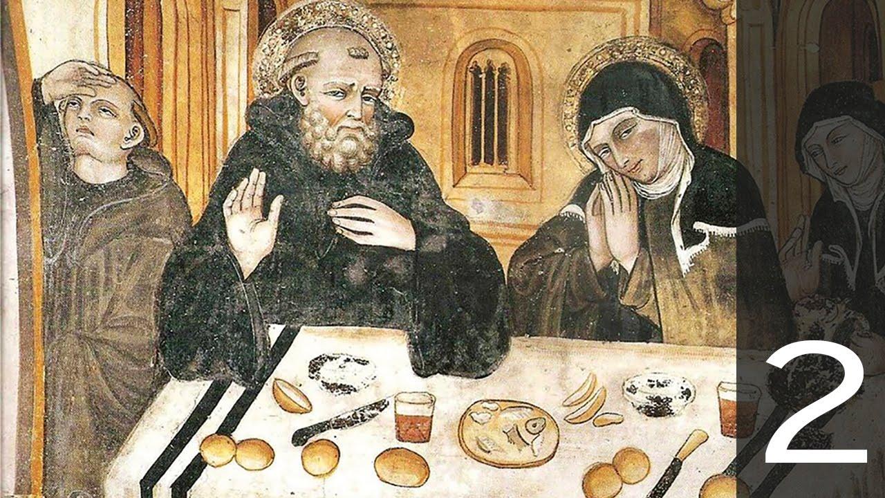 alimentazione e cultura. la dieta dei monaci nel medioevo - youtube