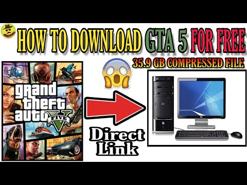 How to Download GTA 5 Full Game Highly Compressed(35 GB