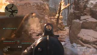 Call of Duty: WW2 - 6 Minutes of Team Deathmatch (Ardennes Forest Map)