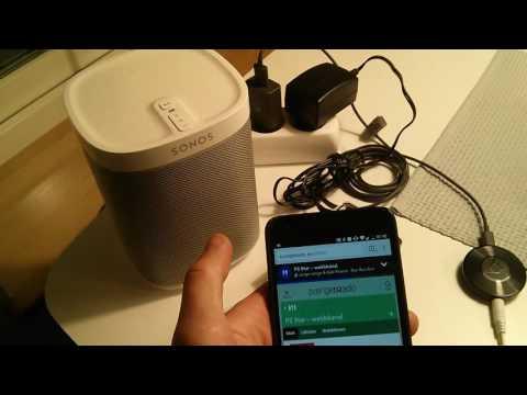 Chromecast to Sonos Play:1