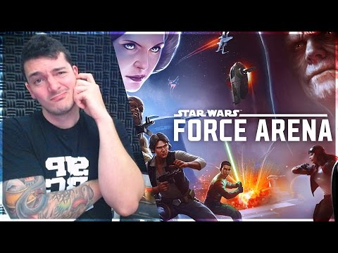 """""""Just Like Clash Royale!"""" STAR WARS FORCE ARENA Good or Bad?"""