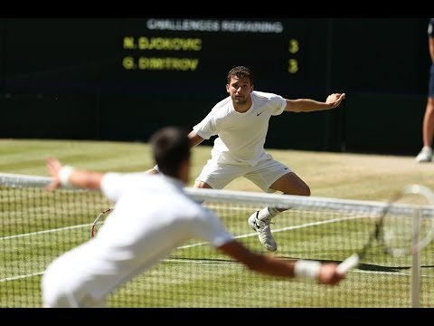 2014 Day 11 Highlights, Novak Djokovic vs Grigor Dimitrov, Semi-Final