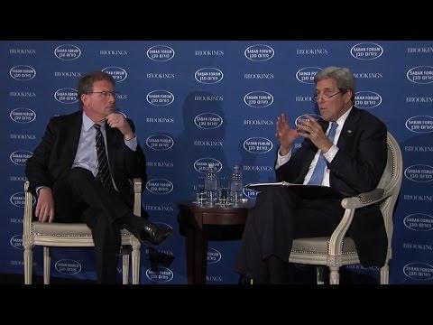 Secretary Kerry Participates at the 2016 Saban Forum