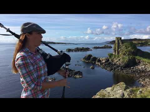 Dark Isle Bagpiper: The Laird of Lagavulin/ Dùn Uilleam Mòr