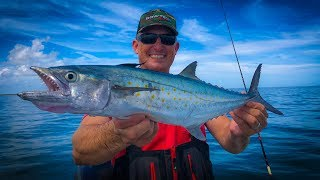 Jumbo Spanish Mackerel {Catch Clean Cook} How to Catch Mackerel