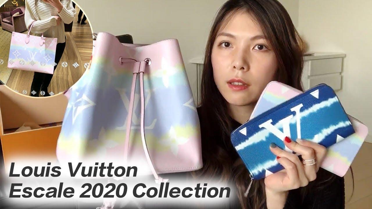 【夢幻指數爆表】水桶包到小皮夾 360度零死角美美介紹 // Louis Vuitton 2020 ESCALE Neonoe , wallets, mini pochette accessoire