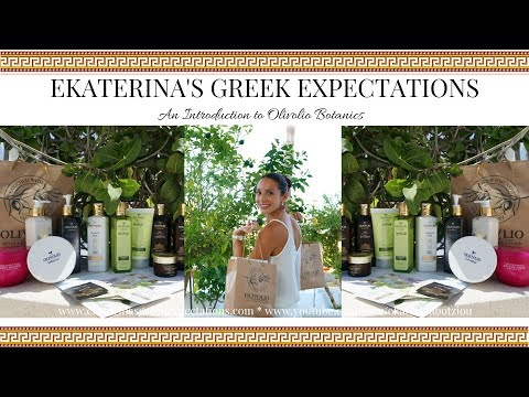 An Introduction to Olivolio Botanics | Natural Greek Skincare & Haircare | Ekaterina Botziou