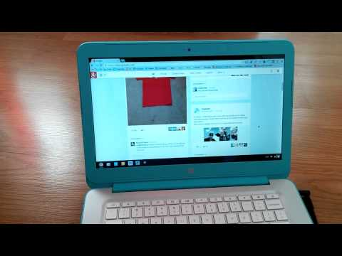 HP Chromebook 14 Unboxing and 1st Impressions