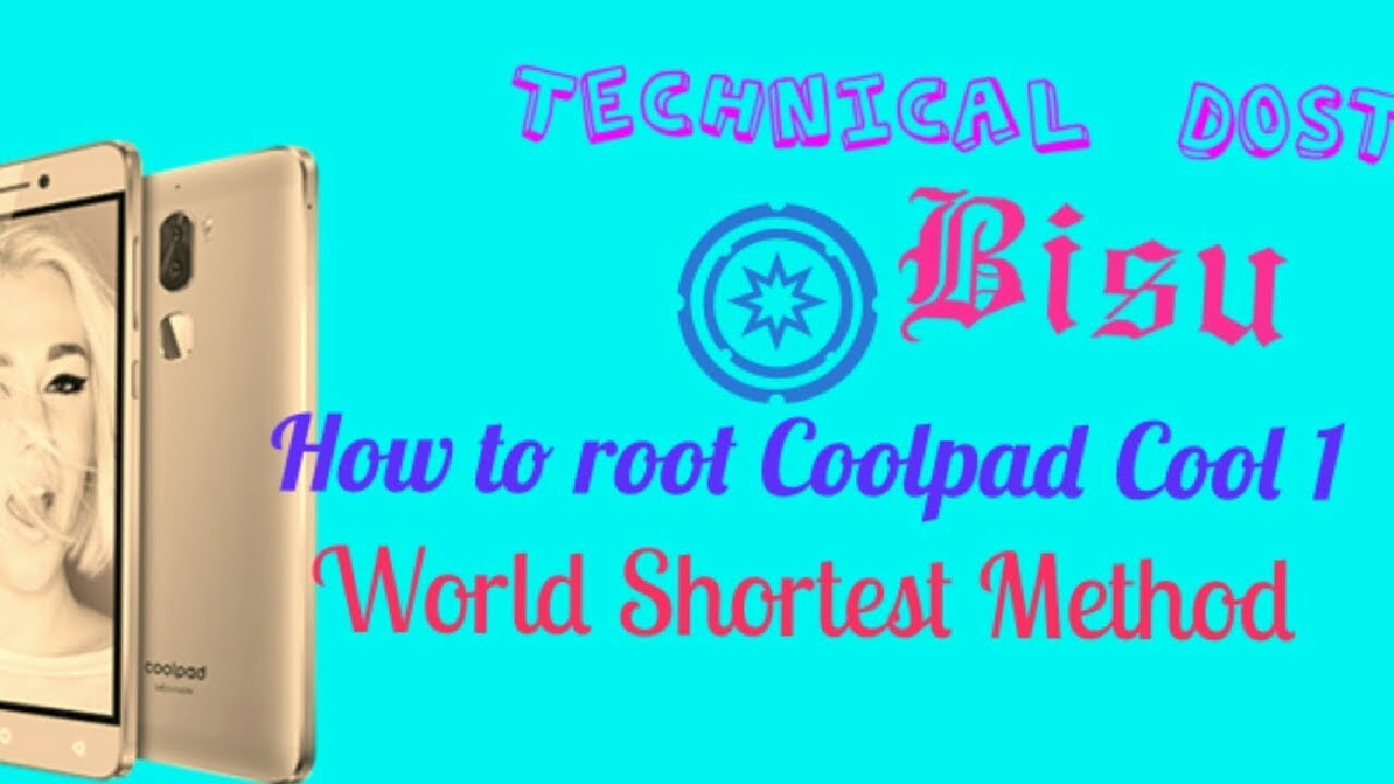 How to root Coolpad cool 1 or any Coolpad or leeco mobile and How to set  twrp recovery