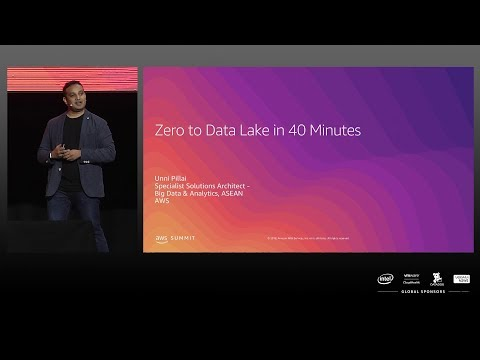 AWS Summit Singapore 2019 | Zero to Data Lake in 40 Minutes