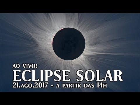 AO VIVO: Eclipse solar nos EUA e no Brasil