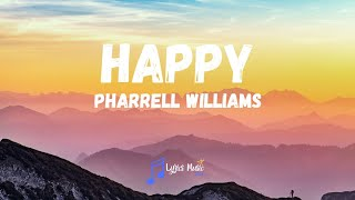 Download Lagu Pharrell Williams - Happy (Lyrics) mp3