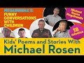 Funny Conversations With Children | Poetry Megabundle 5 | Kids' Poems and Stories With Michael Rosen
