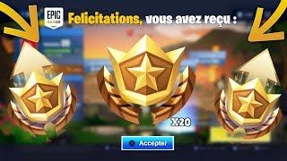 'RECEVOIR' 20 PALIERS ' FREE' TO THIS FORTNITE ERROR on FREE SAISON PALIERS 8 😱