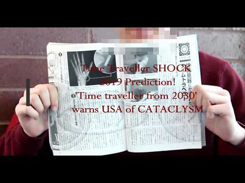 Time traveller SHOCK 2019 prediction: 'Time traveller from 2030' warns USA of CATACLYSM